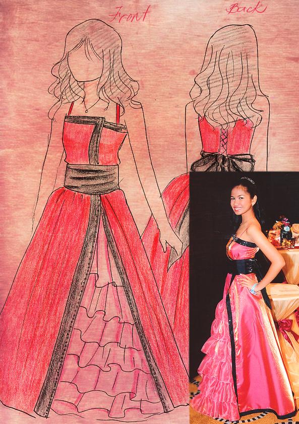 Prom Gown Design by 9Ri on DeviantArt