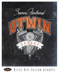 V-Twin Garage by BillyKidGraphix