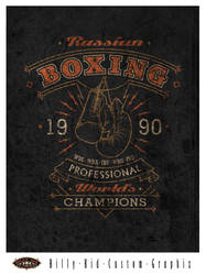 Russian Boxing by BillyKidGraphix