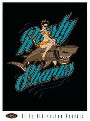 Rusty Sharks by BillyKidGraphix