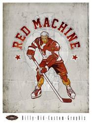 Red Machine by BillyKidGraphix