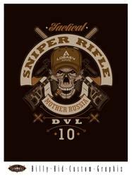 Sniper Rifle DVL-10 by BillyKidGraphix