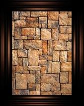 framed stone by kikipurplepuppy
