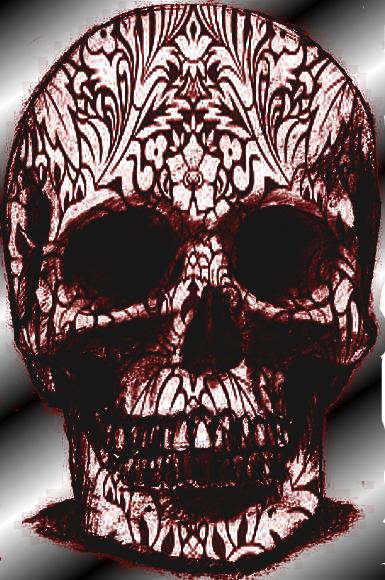 Skull6 by kikipurplepuppy
