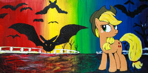 Apple Jack with Bats!