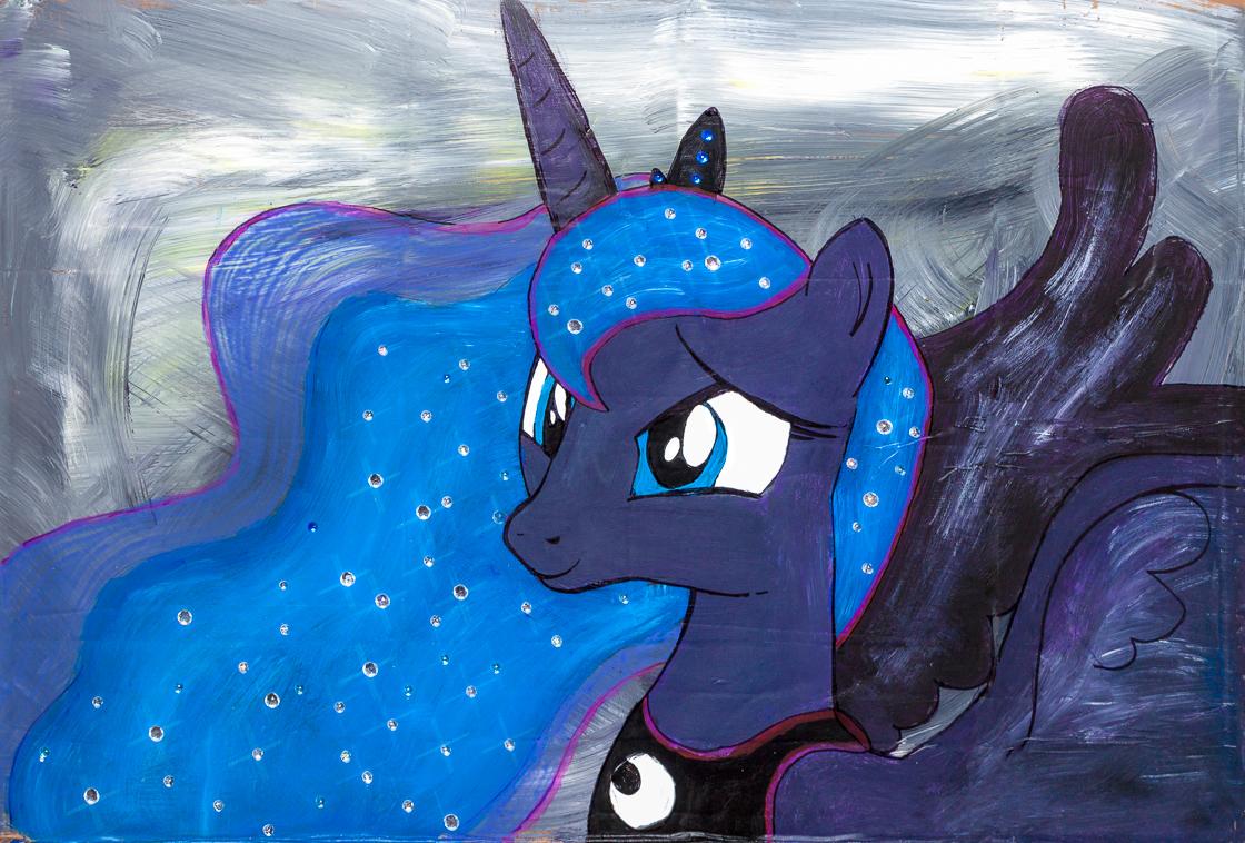 Princess Luna Painting