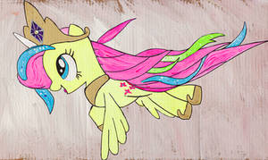 Fluttershy as Princess C