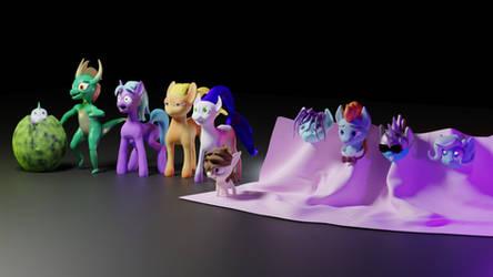 Sculpted Pony Crew