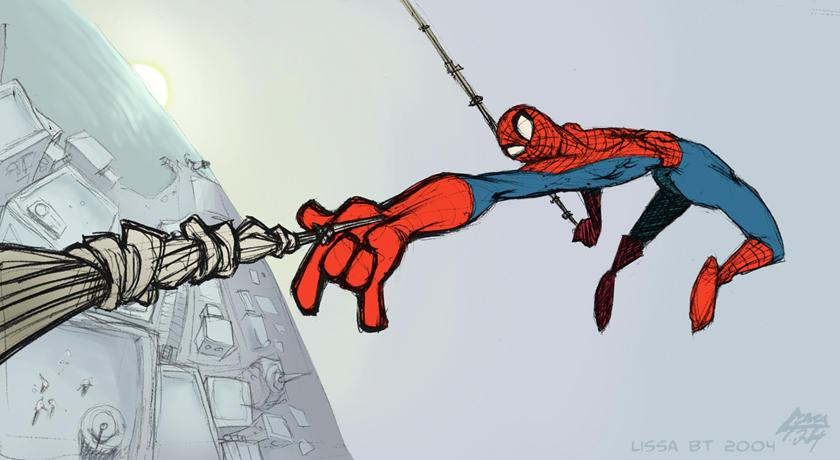 Where have you gone, Spiderman by koosh-llama