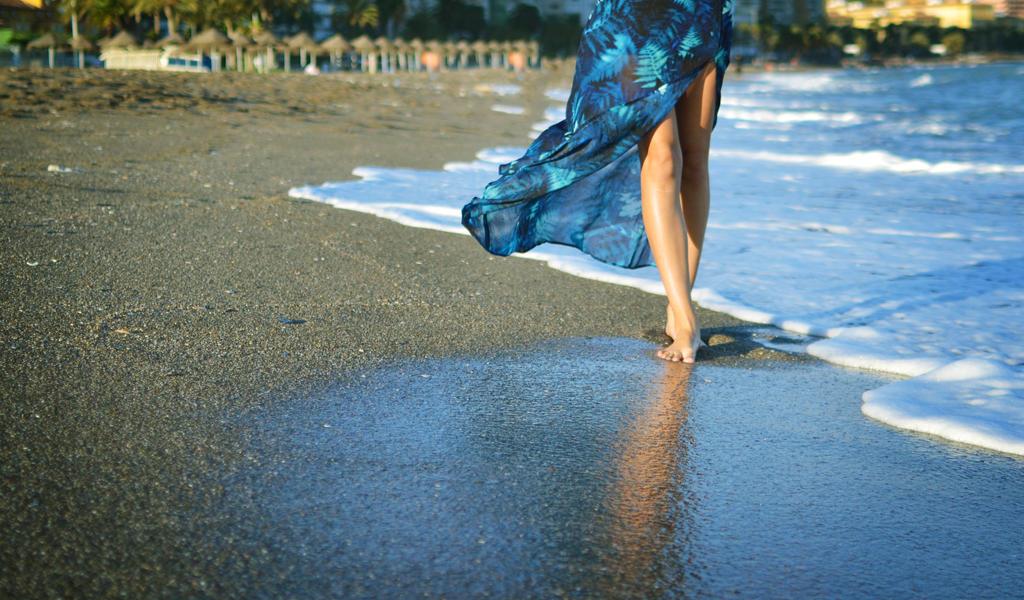 Beach walk by anyffe