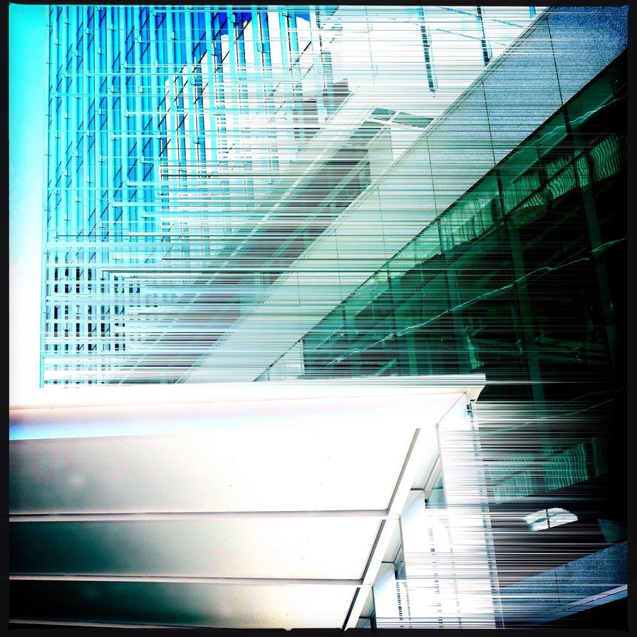 Place bleu by jfdupuis