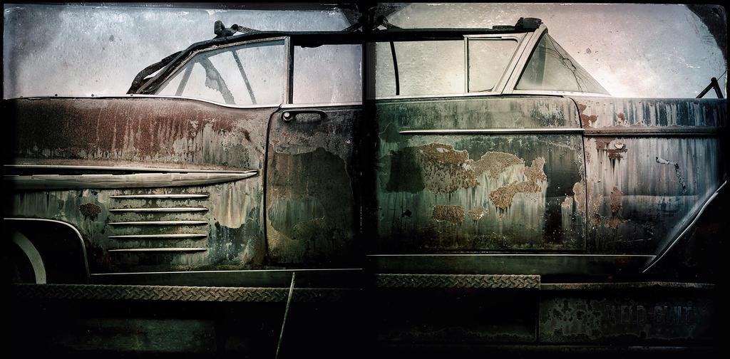 Rusty car story by jfdupuis