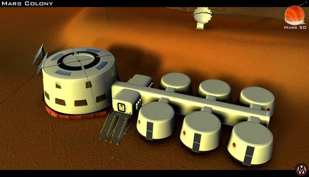 Mars 3D - The Mars Colony