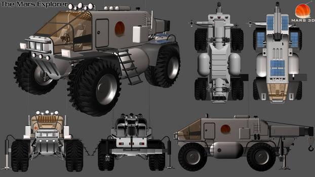 Mars 3D - The Mars Explorer