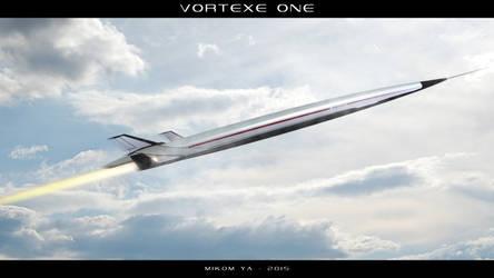 Vortexe One - Hypersonic Spaceplane by MikomDude
