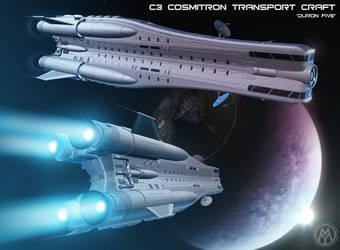 C3 Cosmitron Transport Craft  'Duron Five' by MikomDude