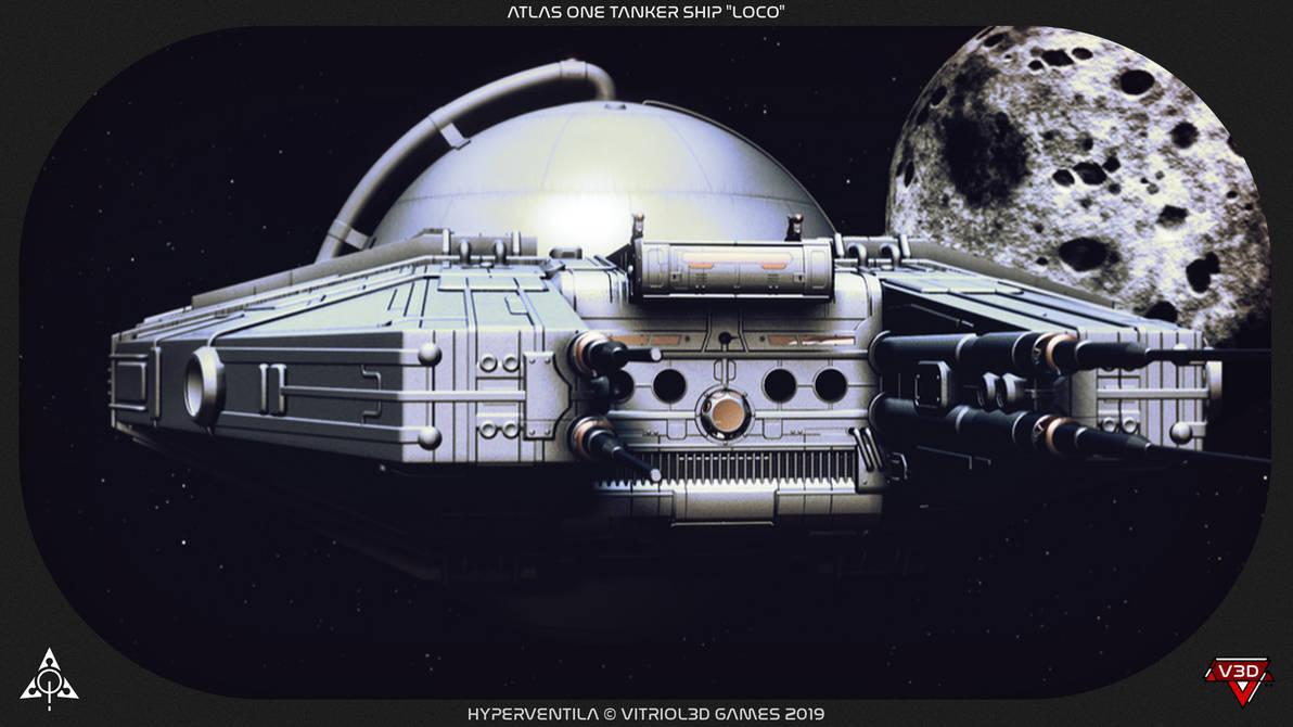 HyperVentila: Atlas One Tanker by MikomDude