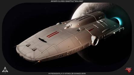 HyperVentila: Manta Class II Shuttle
