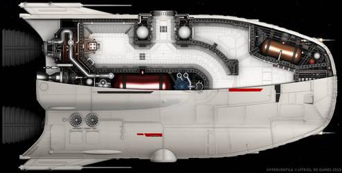 HyperVentila: Manta Shuttle Interior