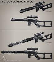 FFS-600 Blaster Rifles