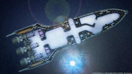 Echron Cruiser Interior