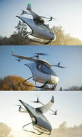 Quadcopter Renders