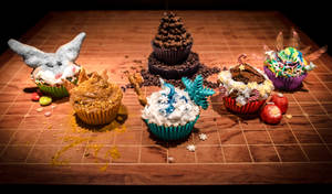 RISE OF THE CUPCAKES - Guardians Of Delight