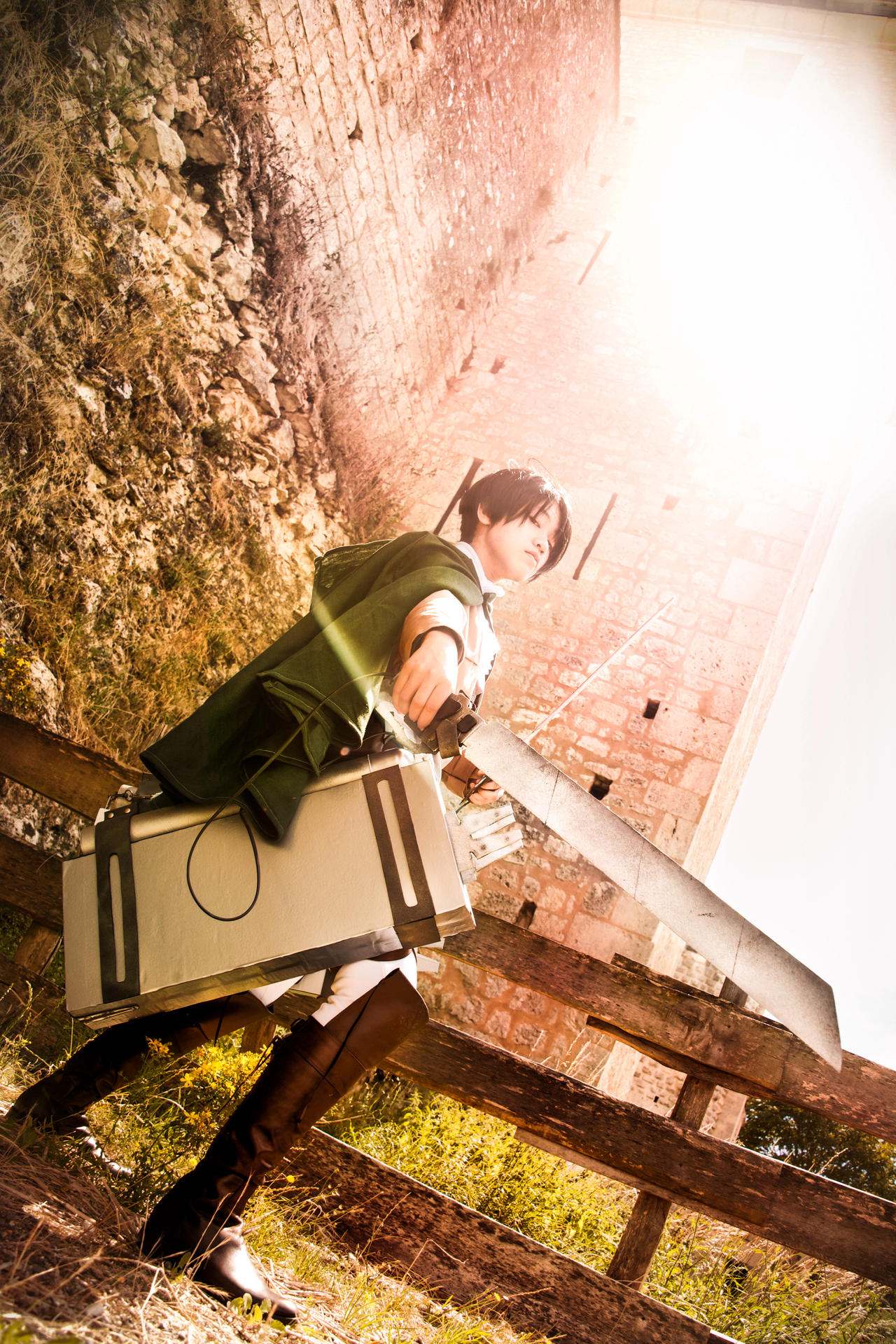Shingeki no Kyojin - The One Who Joined by TrustOurWorldNow