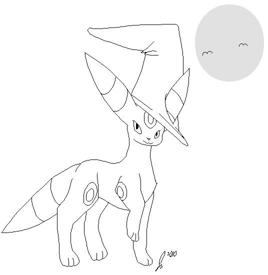 Image Result For Espeon Coloring Pages