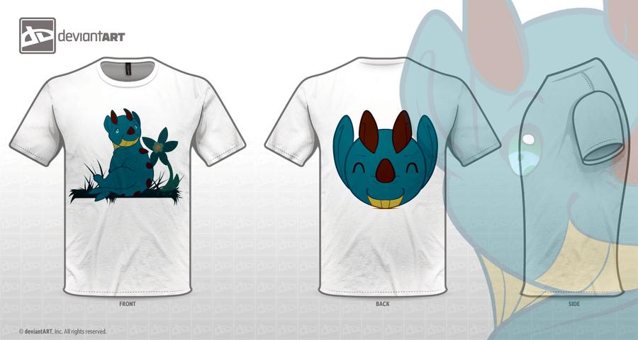 Monster in the Meadow Shirt by jaclynonacloud