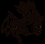 Dragon Whelp Lineart