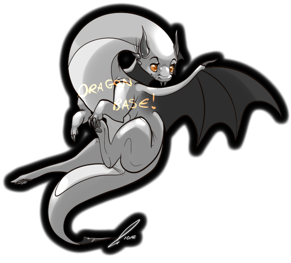 Purchaseable Dragon Base by jaclynonacloud