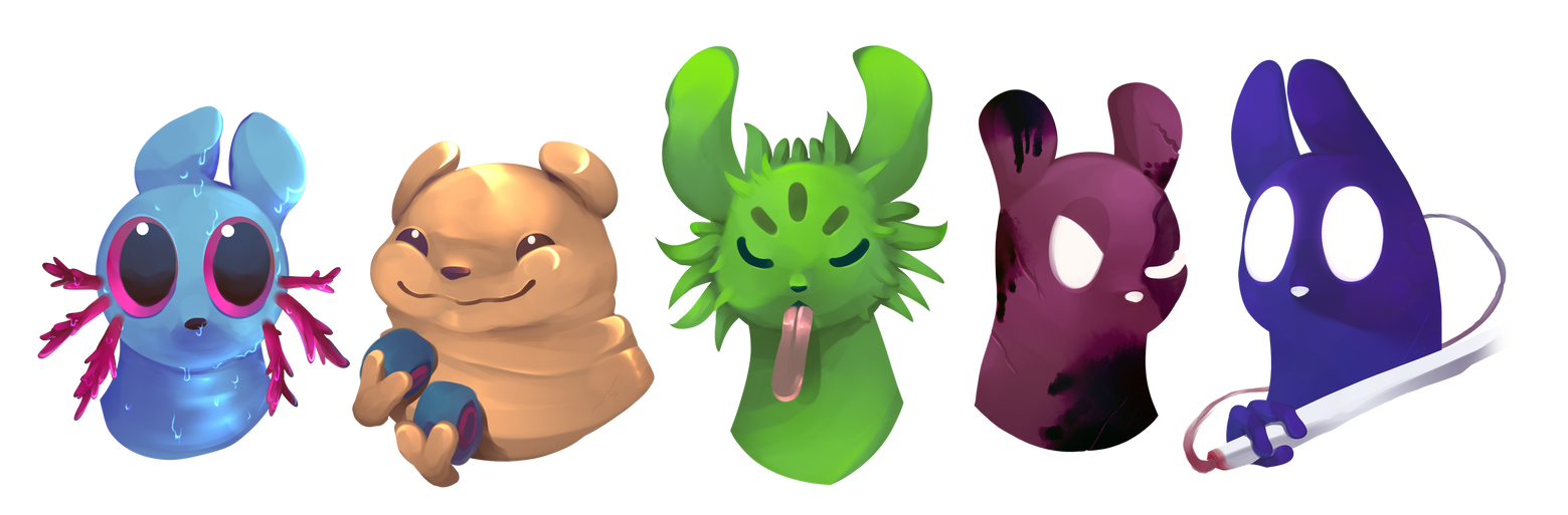 [Rainworld][MSC] A Bunch of Slugcats