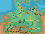 Germany Map Pokemon Style North by JAStar4