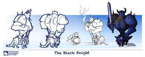 The Black Knight by PurpurNaschvogel