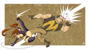 Ninjette's Ninja Kick
