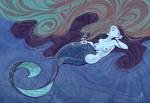 Long Haired Mermaid