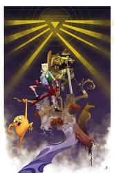 Awesome Adventure Time! by YopparattaNoSaru