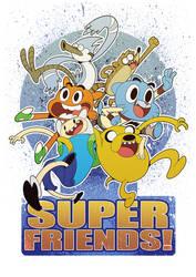 SuperFriends! by YopparattaNoSaru