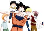 Goku and the JUMP boys