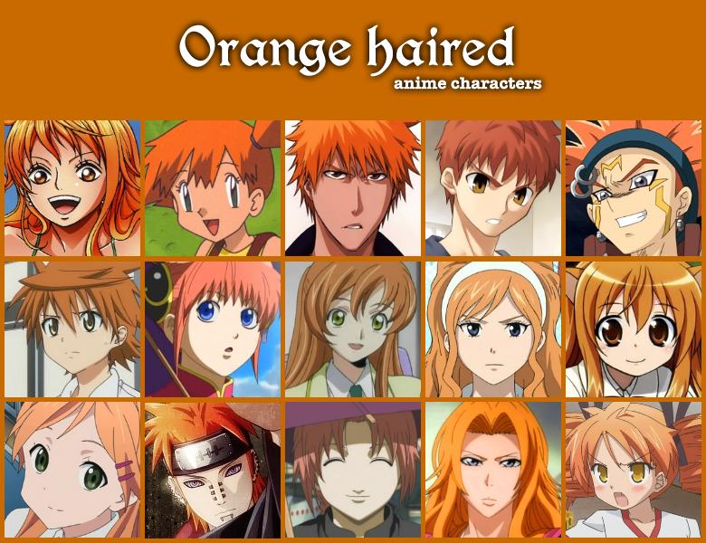 orange haired anime by jonatan7 on deviantart
