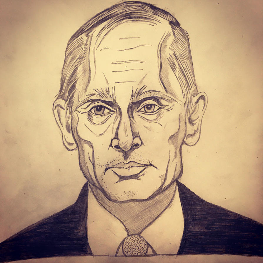Vladimir Putin by Yarnelson