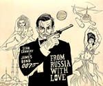 Sean Connery Tribute- From Russia With Love by Yarnelson