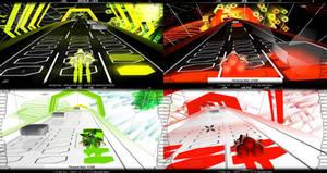 Audiosurf (1) Geotex Texture Pack!
