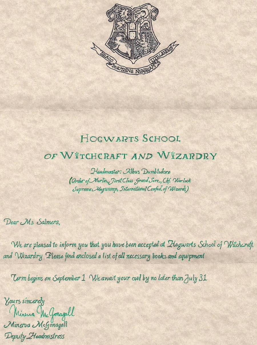 Hogwarts acceptance letter by FullMetalOctopus on DeviantArt – Hogwarts Acceptance Letter