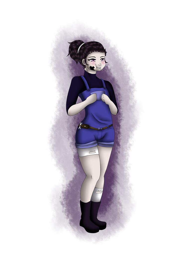 Kyoko new oc by Renarde83