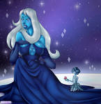 Steven Universe Blue - [COLLAB with MoonLitAlien] by Renarde83