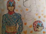 Mista Guido sketch - JJBA by Renarde83