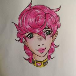 Sketch Trish Una - JJBA