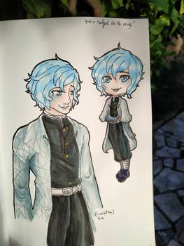 [OC DEMON SLAYER] Yukio icy boy